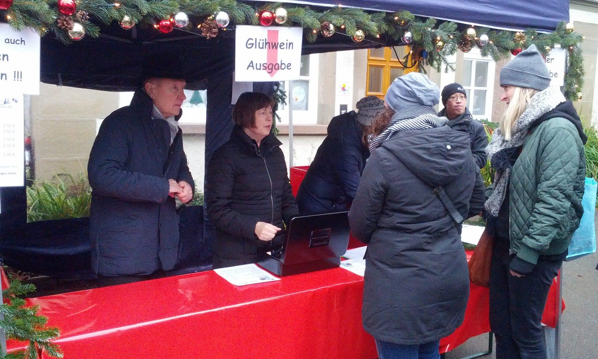 Stand des BVL Maichingen beim Weihnachtsmarkt 2017 (1)