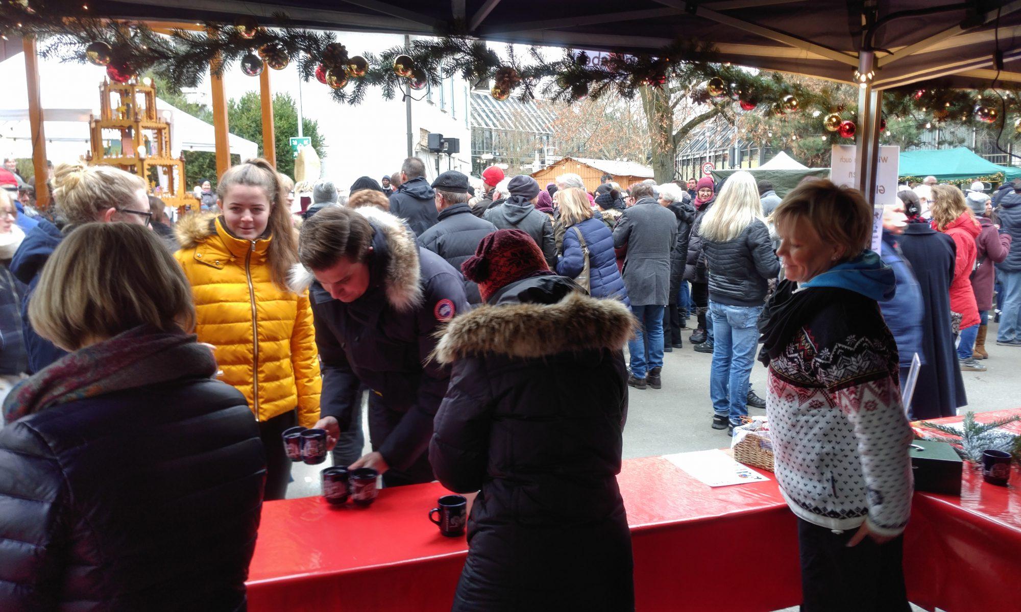 Weihnachtsmarkt Maichingen - Impressionen am BVL Stand 1