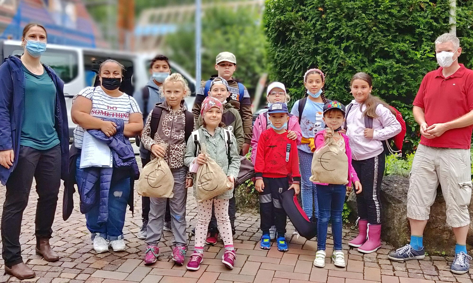 Spendenübergabe an Kinderschutzbund BB / KiFaZ Maichingen
